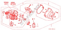 DISTRIBUTOR (LUCAS) (82DCC4) for Honda Cars CIVIC 1.4IS       L.P.G. 5 Doors 5 speed manual 1999