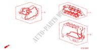 GASKET KIT for Honda Cars CIVIC 1.4IS       L.P.G. 5 Doors 5 speed manual 1999