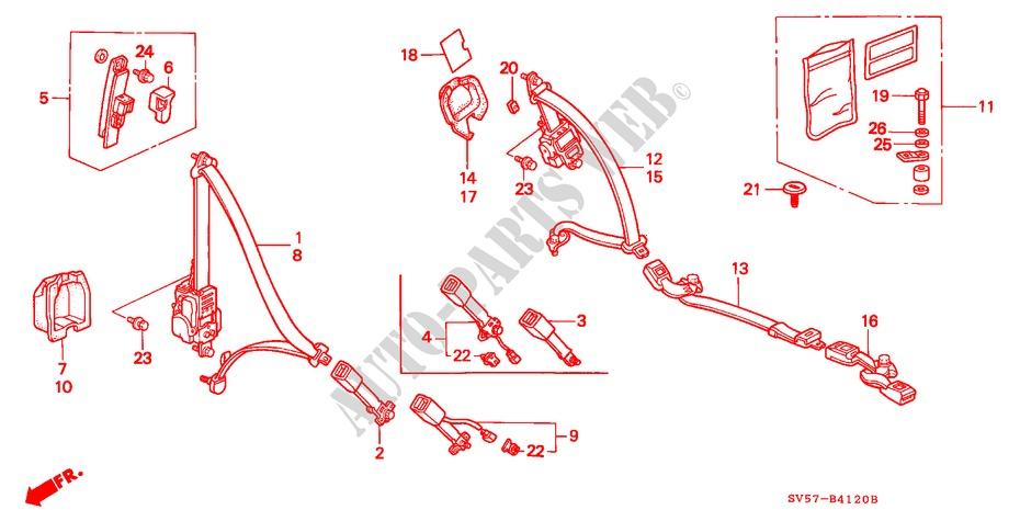 1996-2010 Replace 2520227 by NASIBO New Fuel Pump For Polaris Sportsman 325 400 500 600 700 2X4 4X4 6X6