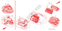 GASKET KIT/ENGINE ASSY./ TRANSMISSION ASSY. for Honda Cars NSX NSX 2 Doors 4 speed automatic 1997