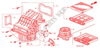 HEATER BLOWER (LH) ELECTRICAL EQUIPMENTS, EXHAUST, HEATER CR-V I-CTDI honda-cars 2007 2.2 EXECUTIVE B__1710