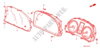 METER COMPONENTS (NS) ELECTRICAL EQUIPMENTS, EXHAUST, HEATER CR-V I-CTDI honda-cars 2007 2.2 EXECUTIVE B__1210