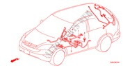WIRE HARNESS (LH)(3) ELECTRICAL EQUIPMENTS, EXHAUST, HEATER CR-V I-CTDI honda-cars 2007 2.2 EXECUTIVE B__0704
