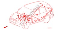 WIRE HARNESS (LH)(4) ELECTRICAL EQUIPMENTS, EXHAUST, HEATER CR-V I-CTDI honda-cars 2007 2.2 EXECUTIVE B__0706
