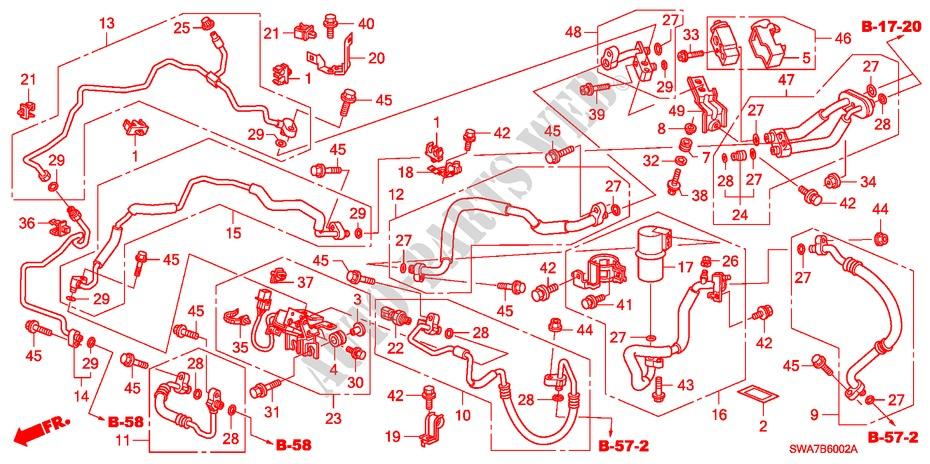 2008 Honda Crv Body Parts Diagram