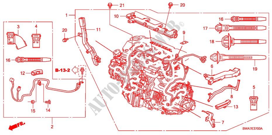 2007 Honda Cr V Wiring Harnes