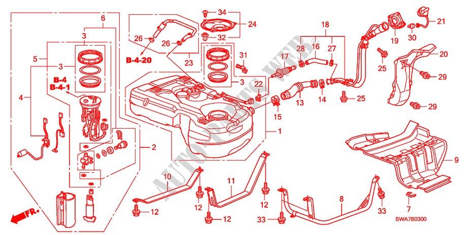 Genuine Honda 17653-SR2-000 Breather Tube