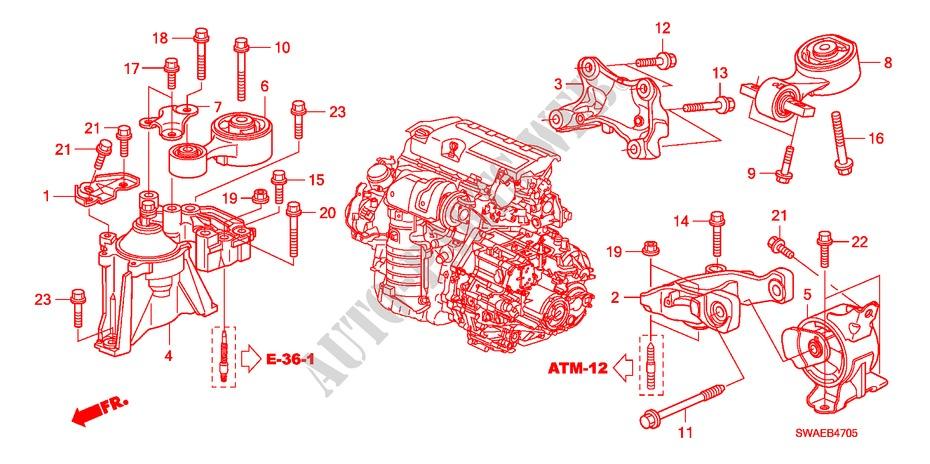2010 Honda Cr V Engine Diagram