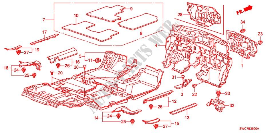 GGBAILEY D2677A-F1A-PNK Custom Fit Automotive Carpet Floor Mats for 1994 1995 1996 1997 Land Rover Defender 90 Pink Driver /& Passenger