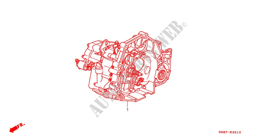 TRANSMISSION ASSY. for Honda Cars CITY EXI-S 4 Doors 4 speed automatic 2002