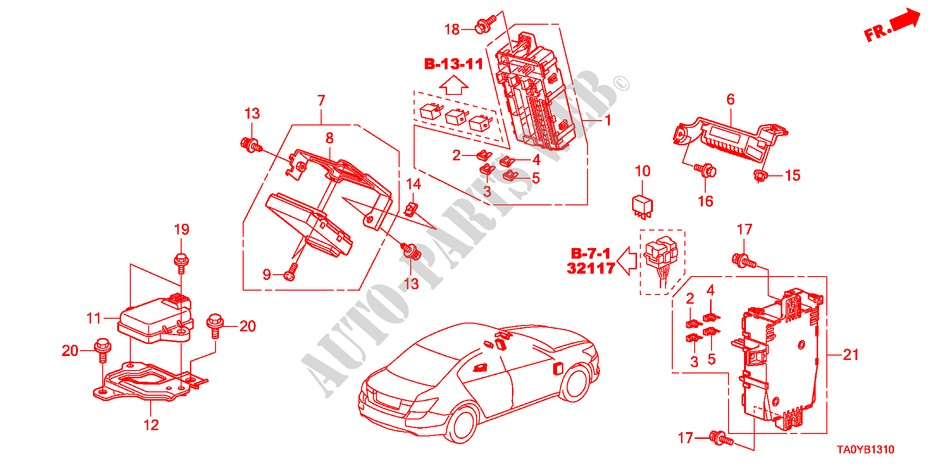 5MM Genuine Honda 90306-SA0-000 Floating Nut