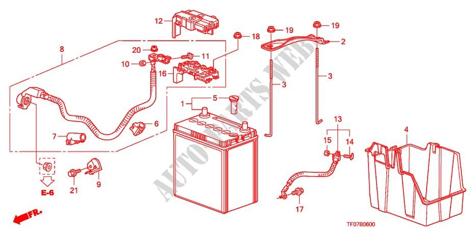 Battery For Honda Cars Jazz 1 2 Se 5 Doors 5 Speed Manual