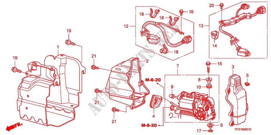 Clutch Actuator  I Shift  For Honda Cars Jazz 1 4 Ex 5