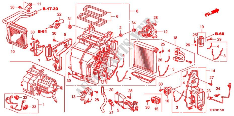 Heater Unit  Lh  For Honda Cars Jazz 1 5 Lxt 5 Doors 5 Speed Automatic 2009   Honda Cars