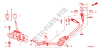 SHIFT LEVER(MT) for Honda Cars JAZZ 1.4 ES 5 Doors 5 speed manual 2010