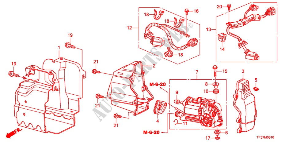 Stupendous Clutch Actuator I Shift Transmission 14Ex 2011 Jazz Honda Cars Wiring Digital Resources Cettecompassionincorg
