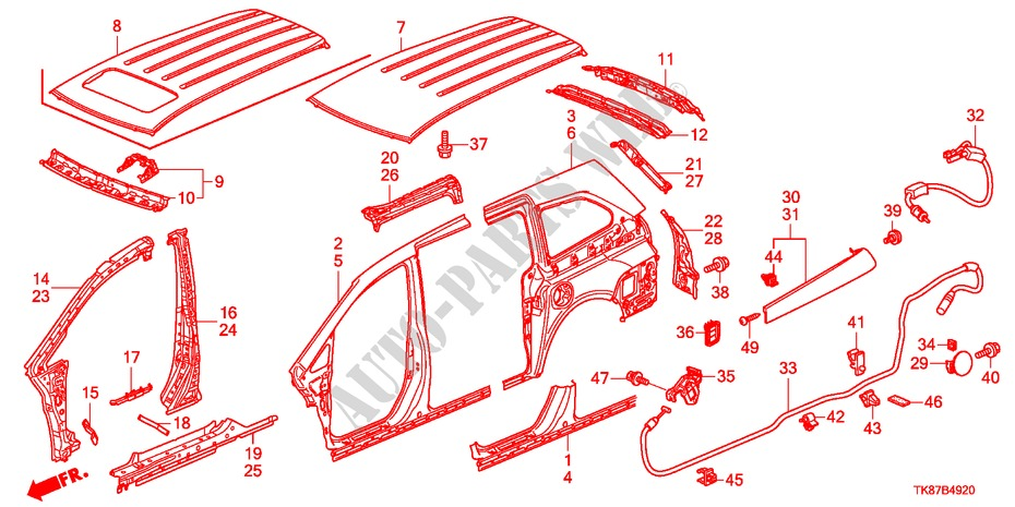 Honda Odyssey Diagram - Wiring Diagrams Entry on