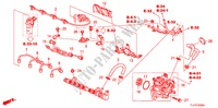 FUEL RAIL/HIGH PRESSURE P UMP (DIESEL) for Honda Cars ACCORD TOURER 2.2 EXECUTIVE 5 Doors 6 speed manual 2009