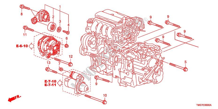 Auto Tensioner For Honda Cars City Lx