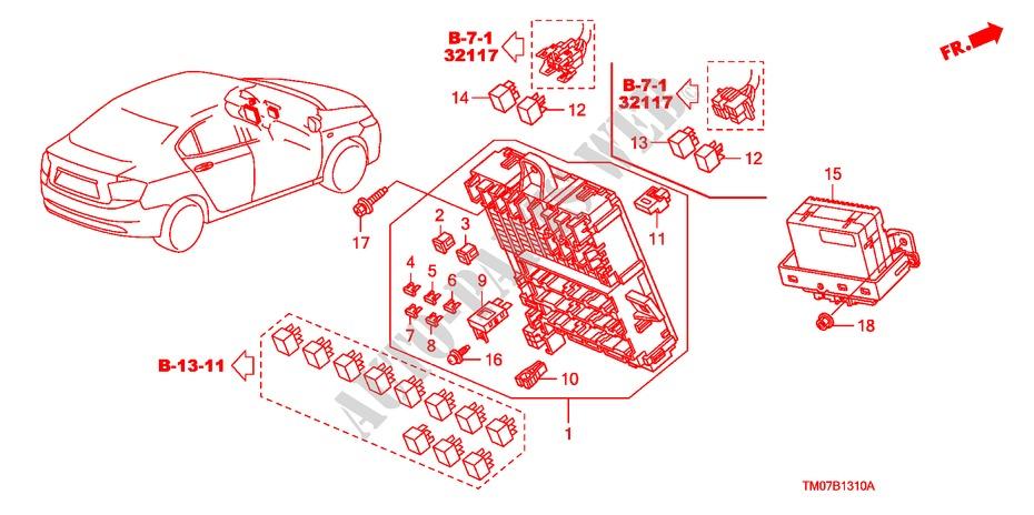 Control Unit Cabin  Lh  1   For Honda Cars City Ex 4 Doors