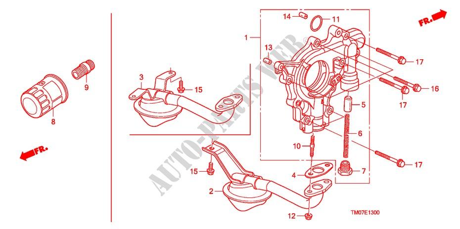 Oil Pump  Oil Strainer For Honda Cars City Lx