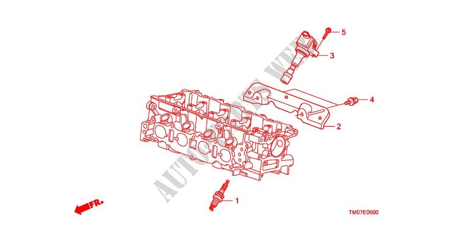 Plug Top Coil  Plug For Honda Cars City Ex