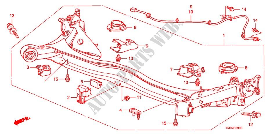 Rear Axle Steering Brake Suspension Ex 2011 City Honda Cars   Honda Cars