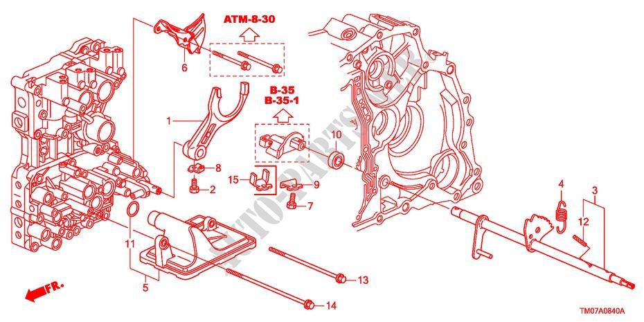 Shift Fork For Honda Cars City Lx