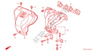 EXHAUST MANIFOLD (DOHC VTEC) for Honda Cars PRELUDE TYPE-S 2 Doors 5 speed manual 2000