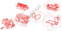 GASKET KIT/ TRANSMISSION ASSY. for Honda Cars ACCORD GL 4 Doors 5 speed manual 1983
