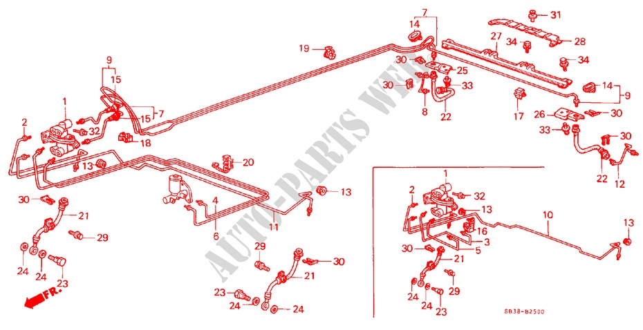Genuine Kia 66326-3F000 Bumper Mounting Bracket
