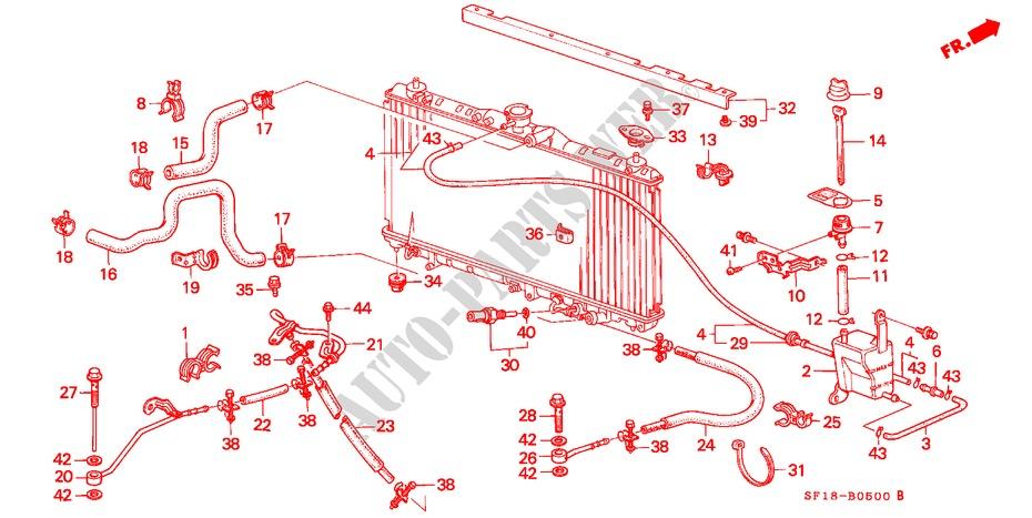 Genuine Honda 19111-PK1-000 Fuel Filler Tube