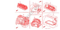 GASKET KIT/ENGINE ASSY./ TRANSMISSION ASSY. for Honda Cars ACCORD LX 4 Doors 5 speed manual 1993