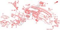 Honda Genuine 83241-SR4-000 Sunroof Grab Rail Bracket