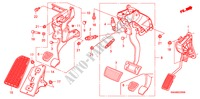PEDAL(LH) STEERING, BRAKE, SUSPENSION CR-V honda-cars 2007 4WD B__2300