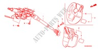 STEERING COLUMN STEERING, BRAKE, SUSPENSION CR-V honda-cars 2007 4WD B__3200