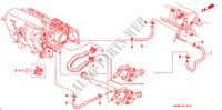 WATER HOSE (3) ENGINE BALLADE honda-cars 1999 160I E__1512