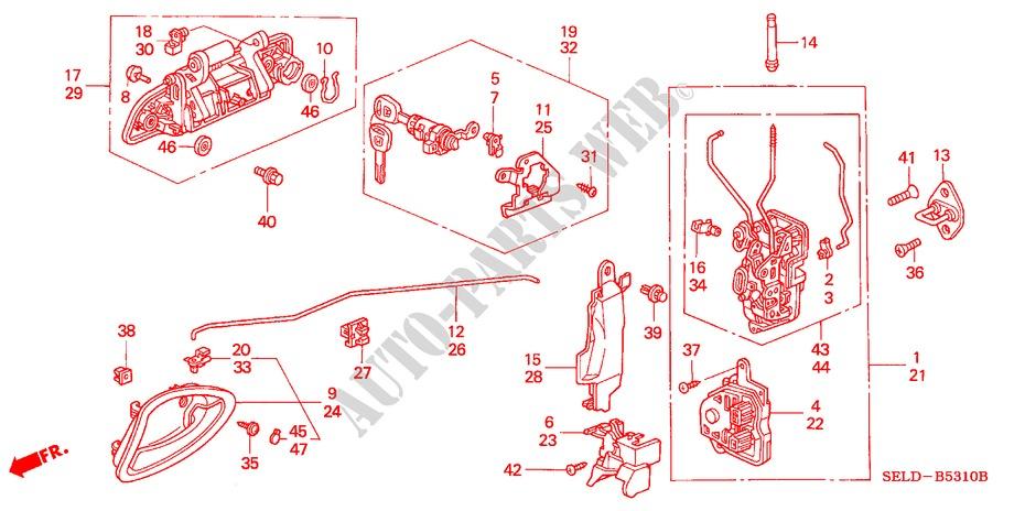 Marvellous Car Door Lock Parts Diagram Photos Best Image