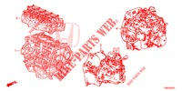GASKET KIT/ENGINE ASSY./ TRANSMISSION ASSY.  for Honda Cars CIVIC TOURER 1.8 LIFESTYLE 5 Doors 6 speed manual 2014