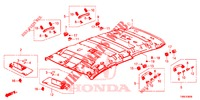 ROOF LINING  for Honda Cars CIVIC TOURER DIESEL 1.6 COMFORT 5 Doors 6 speed manual 2015